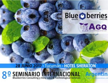 The International Blueberry Seminar in Argentina will be held in Tucuman