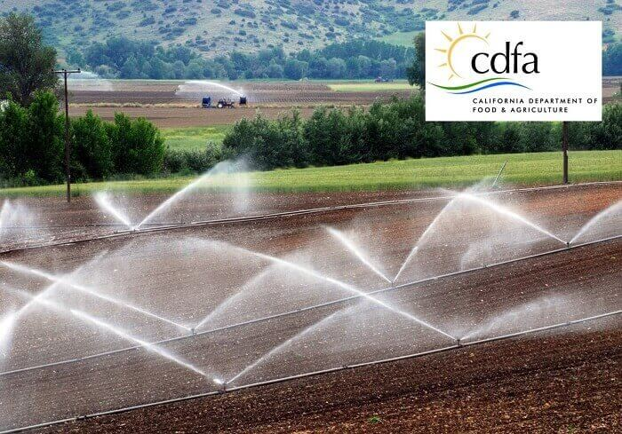 CDFA State Water Efficiency Program