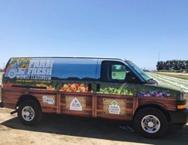 Farm Fresh Mobile Classroom Van