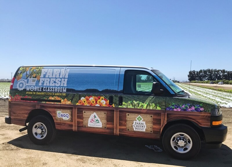 Farm Fresh Mobile Classroom Van