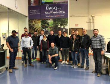 Hazera visits AGQ Labs
