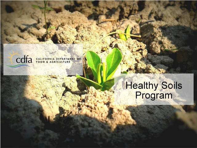 Healthy Soils Program California