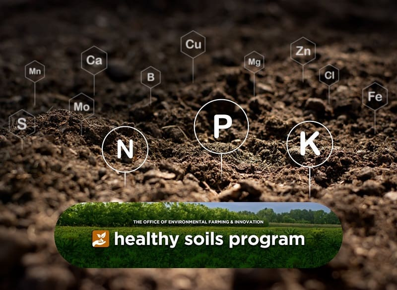 Healthy agricultural soils