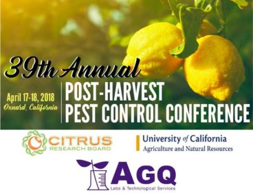 Post-harvest Pest Control Conference, Save the date!