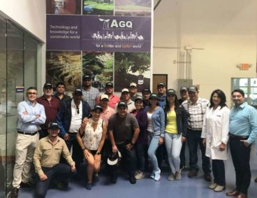 South & Central American growers together in California