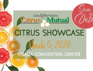 Citrus industry showcase in Visalia, CA