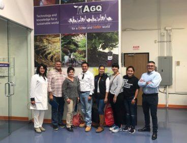 Oxnard Leadership Program visits AGQ Labs