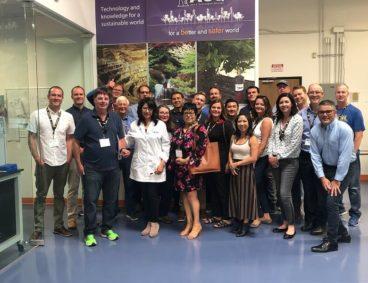 Santa Cruz Chamber of Commerce visits AGQ Labs